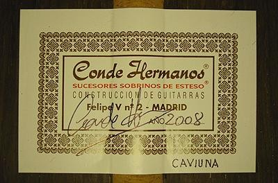 Hermanos Conde 2008 - Guitar 2  - Photo 5