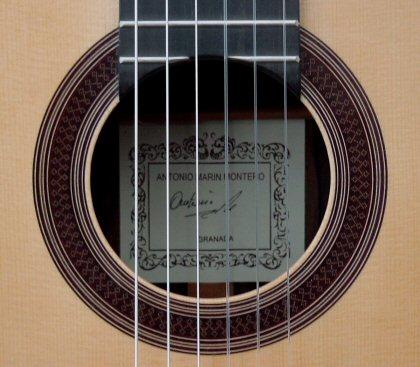 Antonio Marin Montero 2007 - Guitar 3 - Photo 5