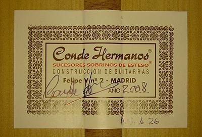 Hermanos Conde 2008 - Guitar 6 - Photo 4
