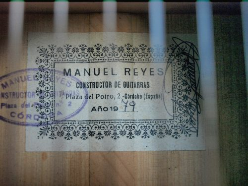 Manuel Reyes 1979 - Guitar 2 - Photo 6