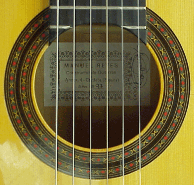Manuel Reyes 1997 - Guitar 1 - Photo 2