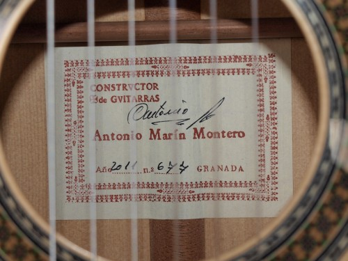 Antonio Marin Montero 2011 - Guitar 1 - Photo 8