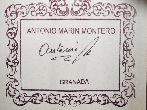 Antonio Marin Montero 2009 - Guitar 4 - Photo 2