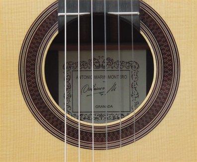 Antonio Marin Montero 2007 - Guitar 2 - Photo 2