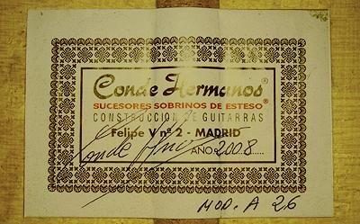 Hermanos Conde 2008 - Guitar 7 - Photo 5