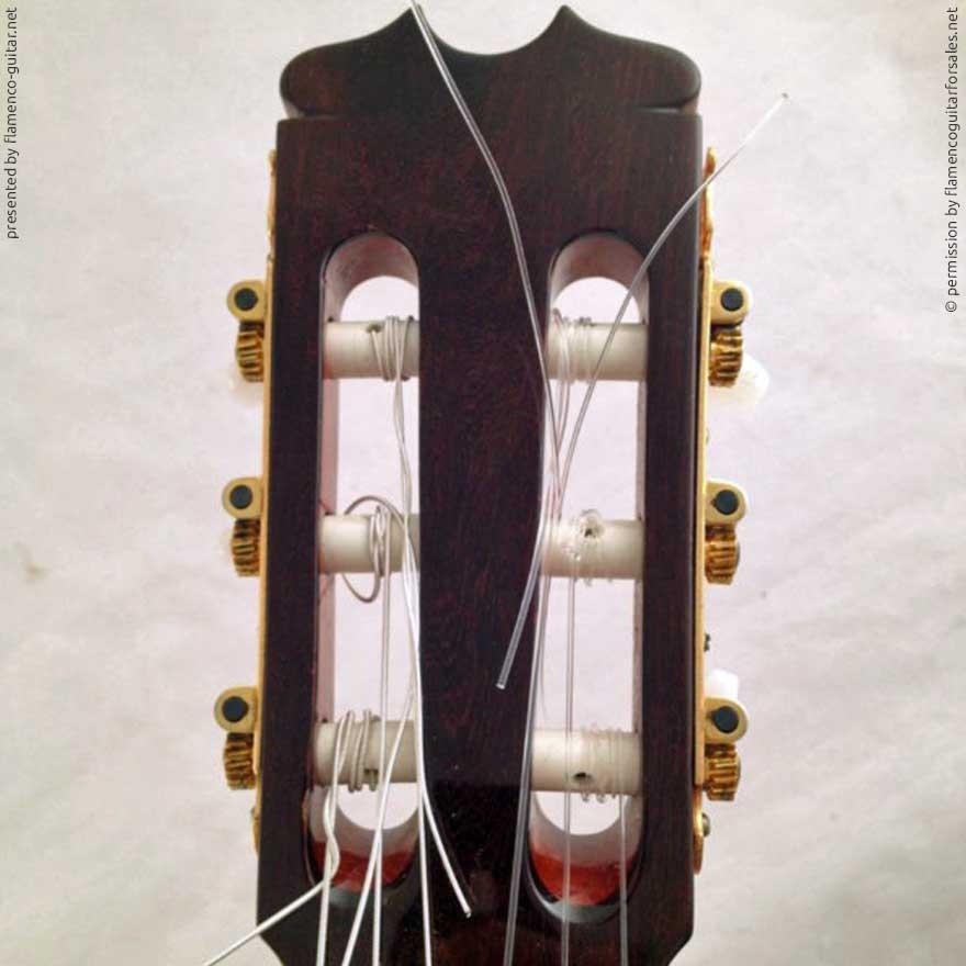 HERMANOS CONDE - SOBRINOS DE ESTESO 1990 - HEADSTOCK - KOPF - CABEZA
