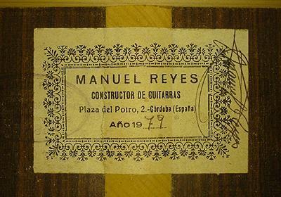 Manuel Reyes 1979 - Guitar 1 - Photo 5