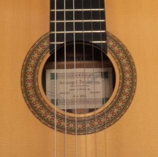 Arcangel Fernandez 2002 - Guitar 1 - Photo 5