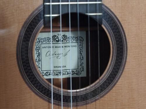Antonio Marin Montero 2011 - Guitar 3 - Photo 9
