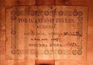 Antonio de Torres 1888 - Guitar 5 - Photo 4