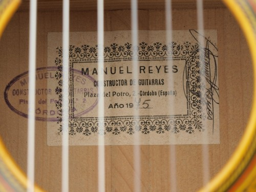 Manuel Reyes 1975 - Guitar 2 - Photo 5