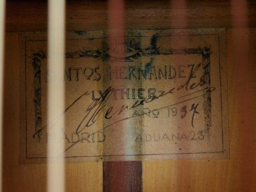Santos Hernandez 1937 - Guitar 2 - Photo 6