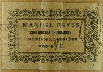 Manuel Reyes 1974 - Guitar 1 - Photo 4