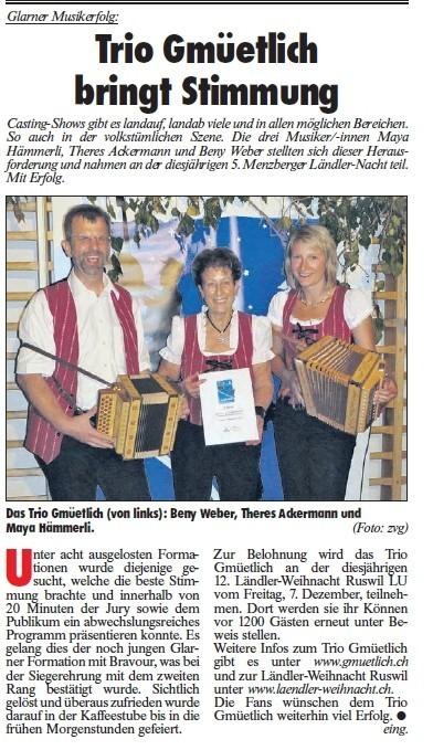 Zeitungsbericht Fridolin 07.06.2012