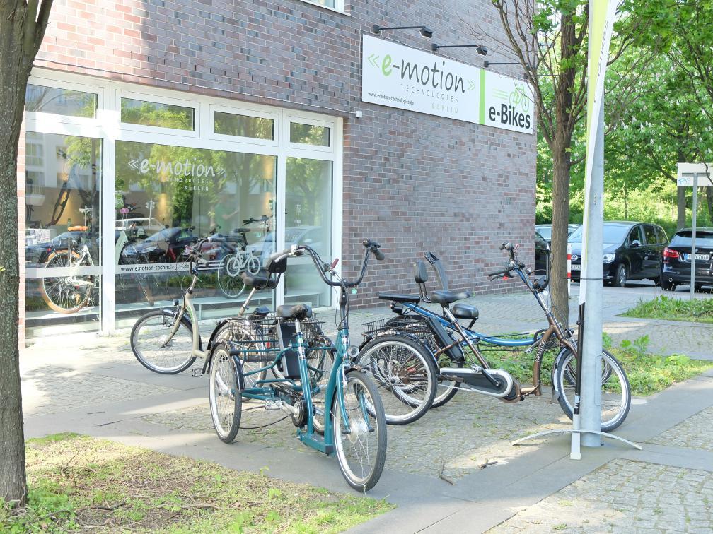 Unsere Dreirad-Zentren