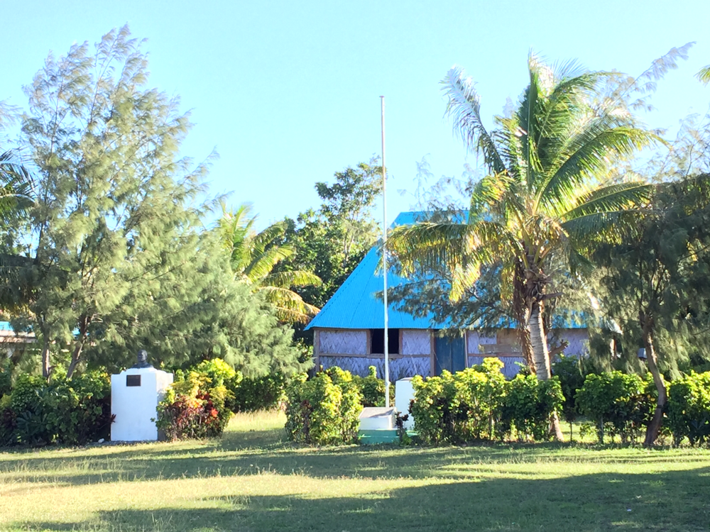 Das Haus vom Chief.