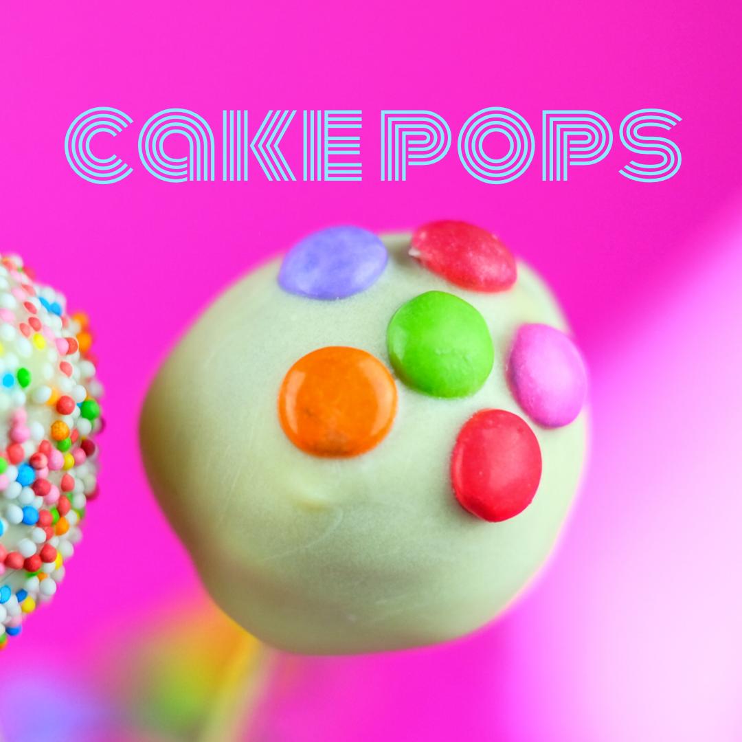 Lustig-bunt: Cakepops