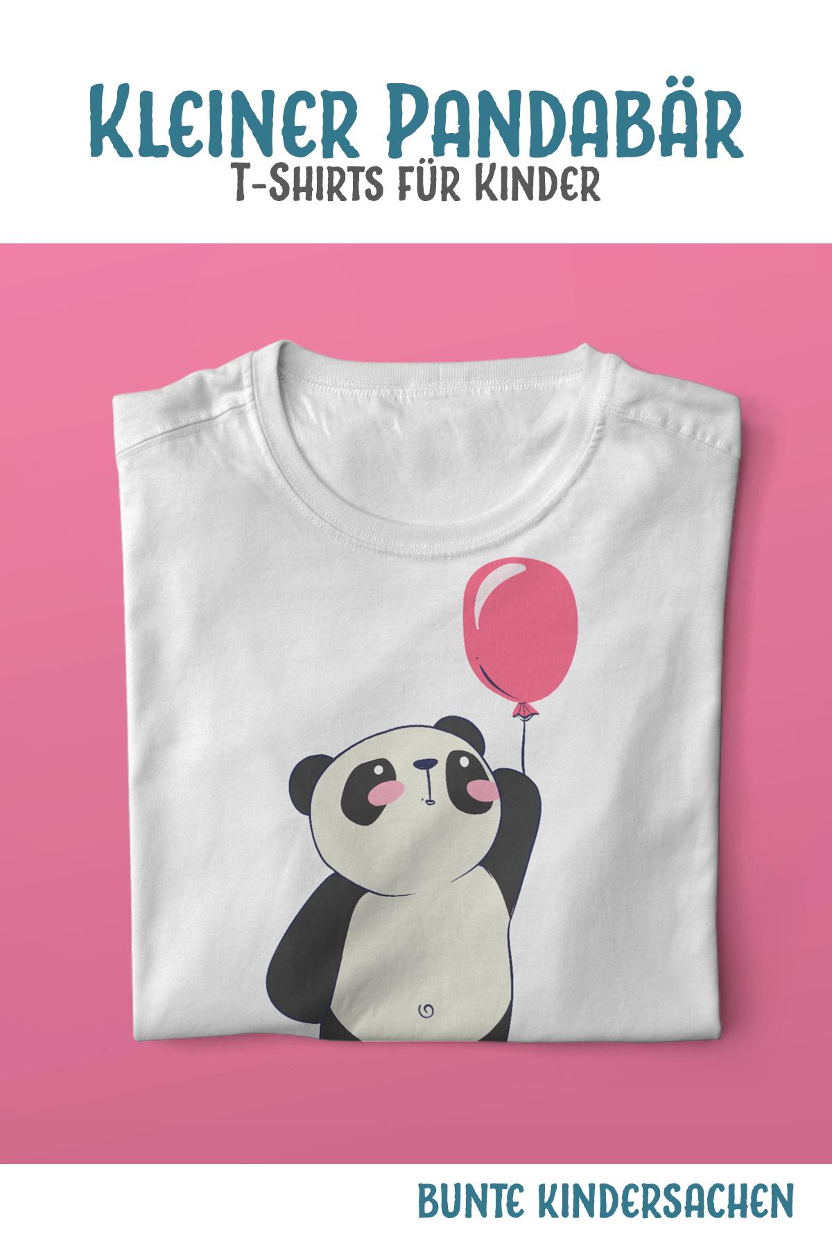Kinder T-Shirt Pandabär