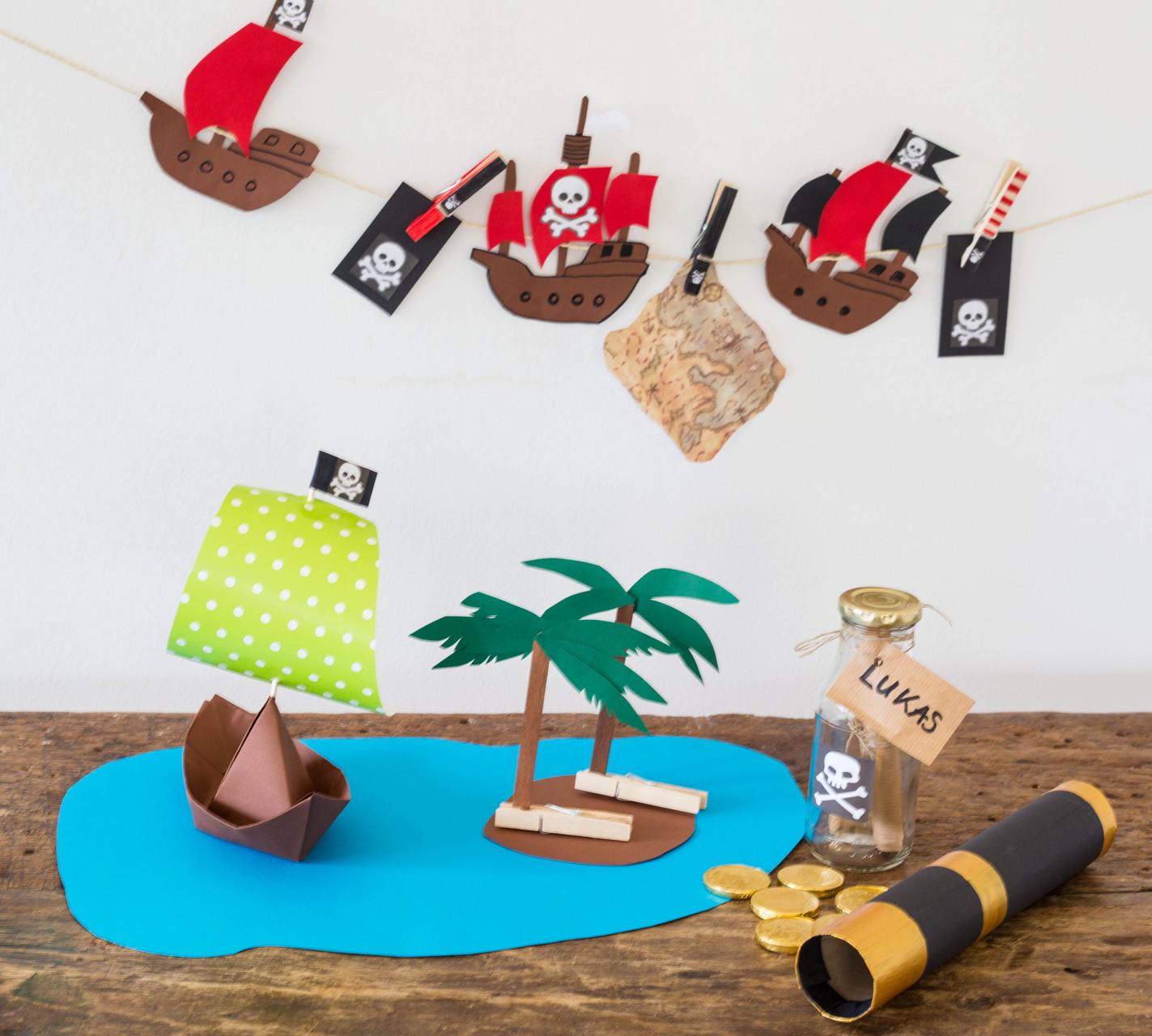 piratenparty ideen f r bunte kindergeburtstage. Black Bedroom Furniture Sets. Home Design Ideas