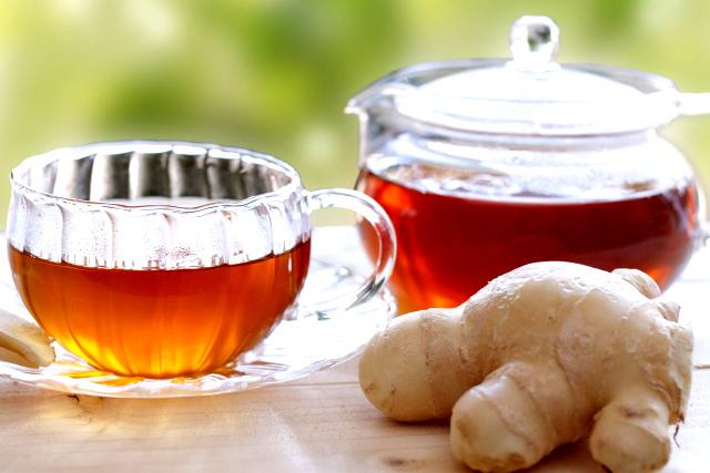 ショウガ紅茶は免疫力アップにオススメ