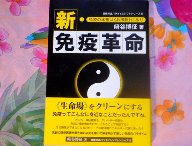 﨑谷博征『新・免疫革命』 鉱脈社