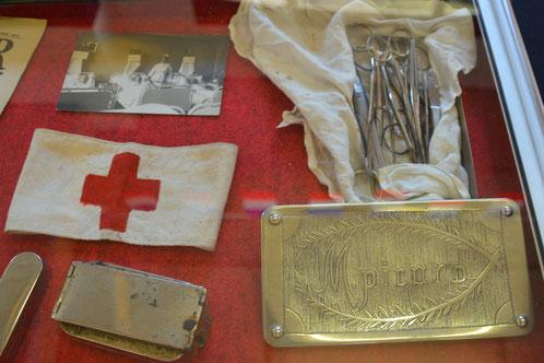 Juillet - Mailly-Maillet- exposition sur les hôpitaux de campagne