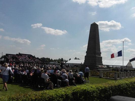 23 juillet- Cérémonie du centenaire de la Bataille de Pozières
