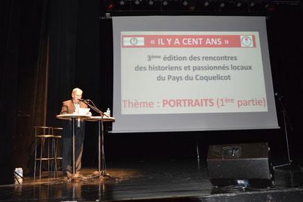 13 mars 2016- Albert- 3é rencontres des historiens et passionnés locaux du Pays du Coquelicot-