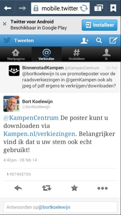 Burgemeester Bort Koelewijn