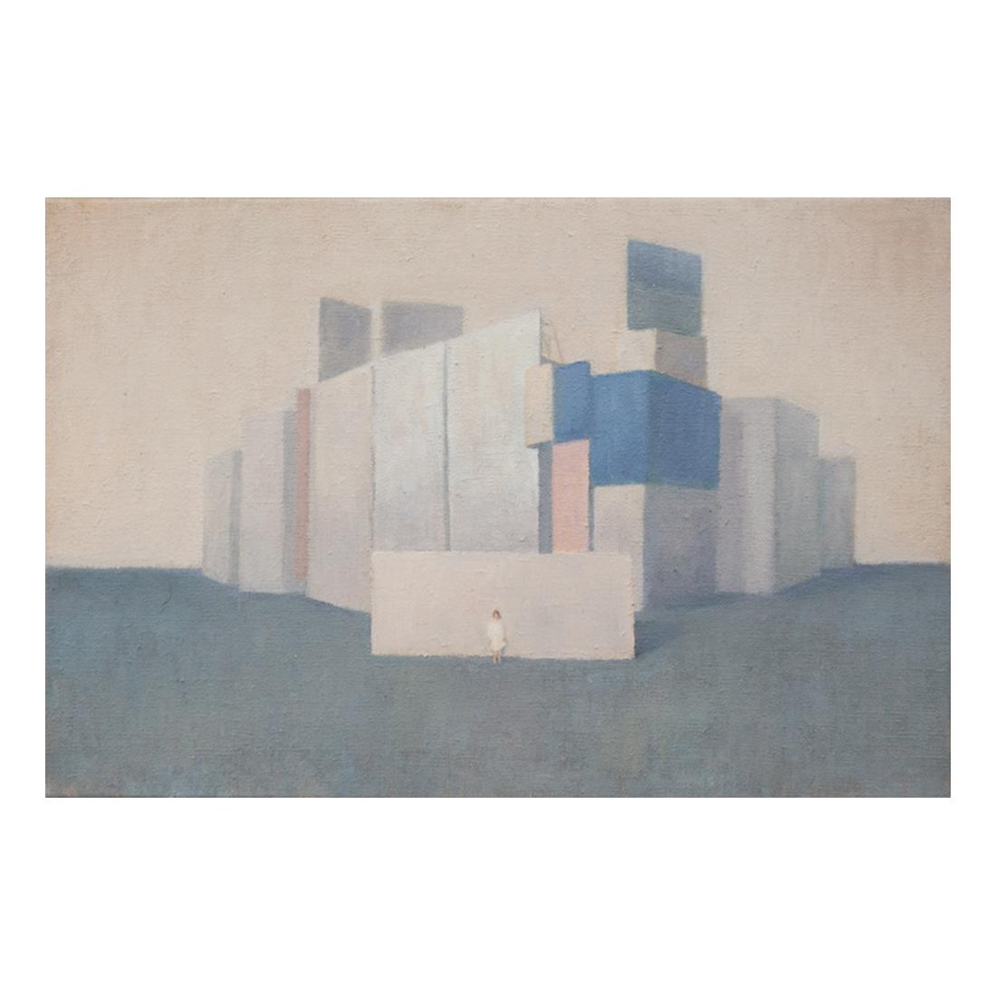 """""""Still Life""""  oil on canvas  40.9×27.3cm"""