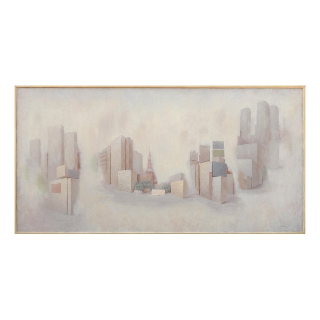 """""""Still Life of Tokyo""""  oil on canvas  194×97cm"""