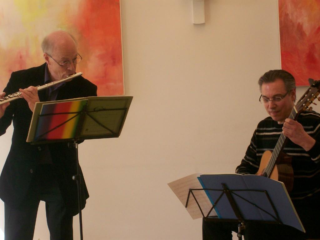 Christoph Haarmann und Hans-Martin Müller