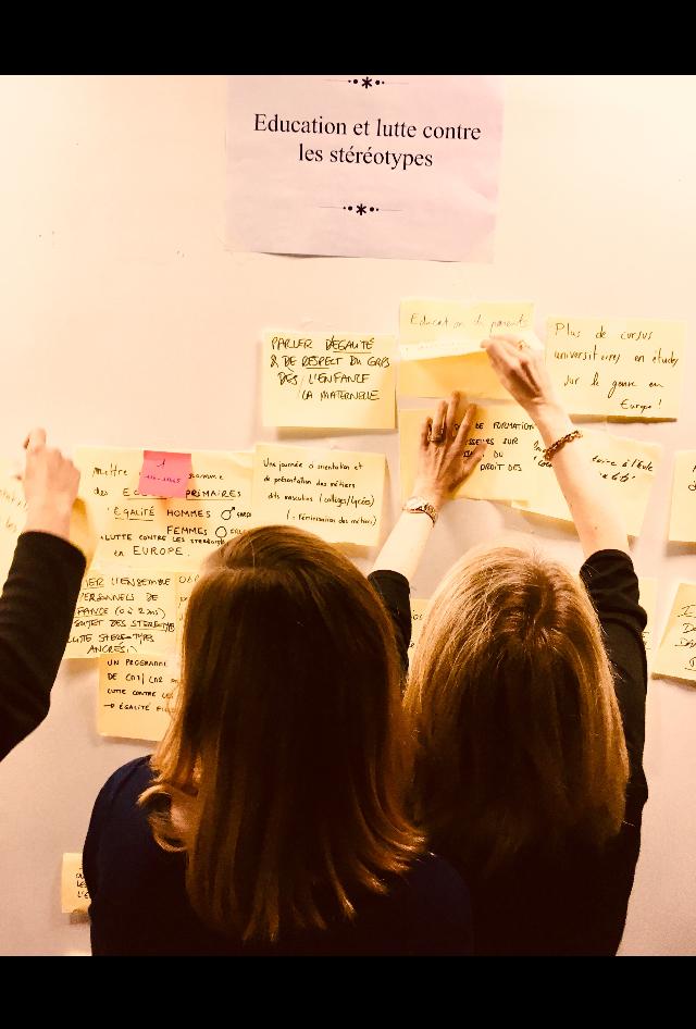 Forum ouvert de Nantes sur les femmes et l'UE : une journée de réflexion intense et des espérances !