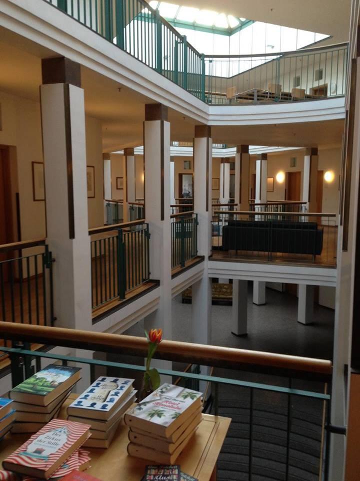 Das Hoffmann & Campe Verlagshaus in Hamburg (zu dem auch der Atlantik-Verlag gehört).