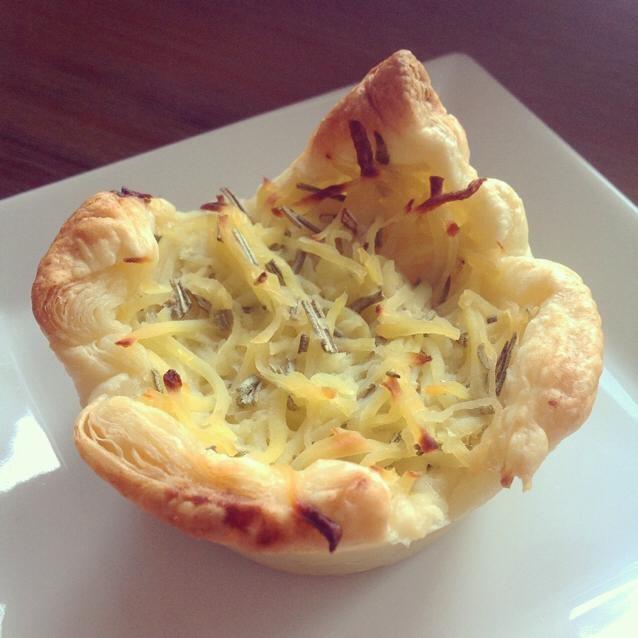 Kartoffel-Rosmarin-Quiche.