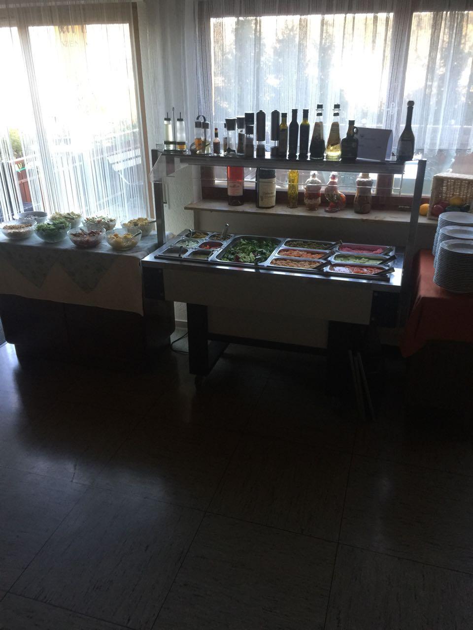 Unser Salatbüffet