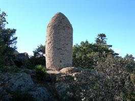 Ancienne borne / frontière à Bélesta (XIIIe)
