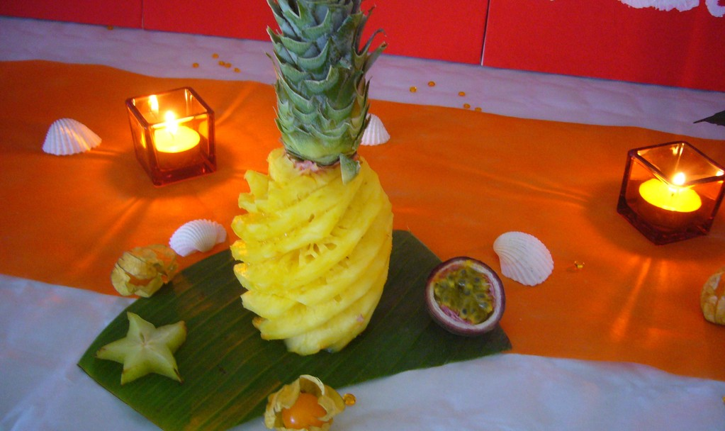 "ananas ""Victoria"" (forfait déco)"