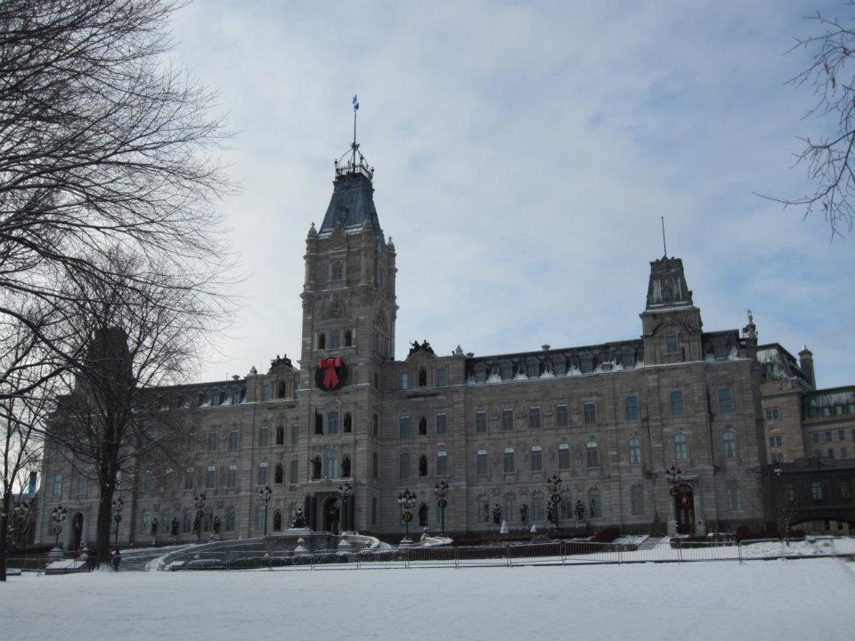 Parliament Building in Quebec