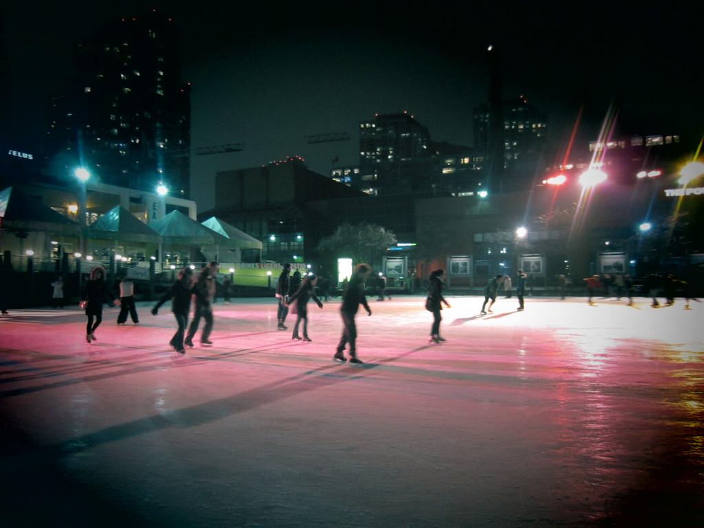 Harbourfront Skating rink