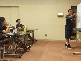 試合中の怪我の対応について 講師 川本先生