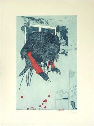 Schlittschuhläuferin, Roby's Blut, 1971