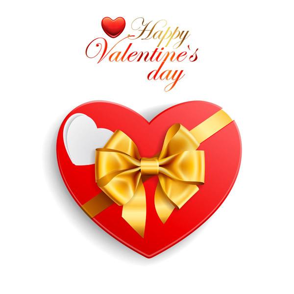 バレンタインデー ハート型のギフト箱 romantic valentine day heartshaped gift box4