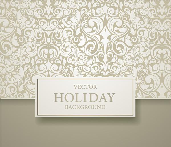 帯付きのお洒落な表紙デザイン european pattern background cover