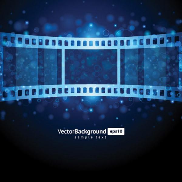 ネガフィルムのクリップアート film negatives vector5