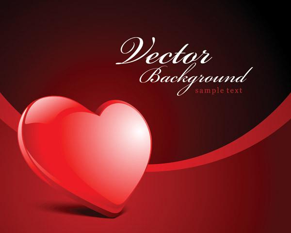 バレンタインデー向けのハート型 valentine day heartshaped texture1