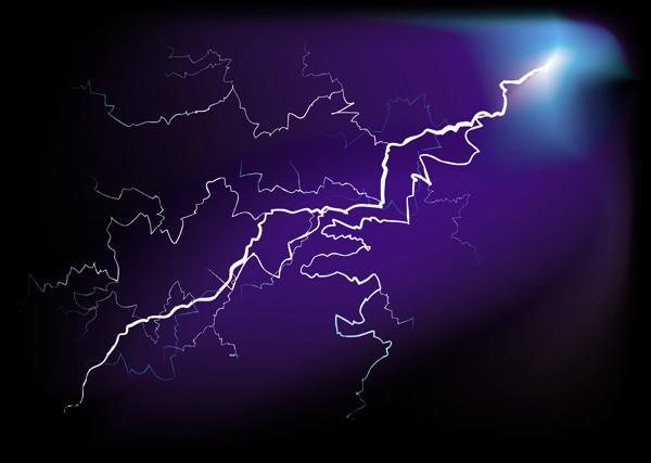 稲妻の光 Lightning thunder1