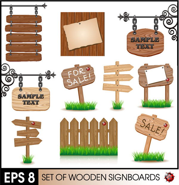 木製看板 wood signs boards