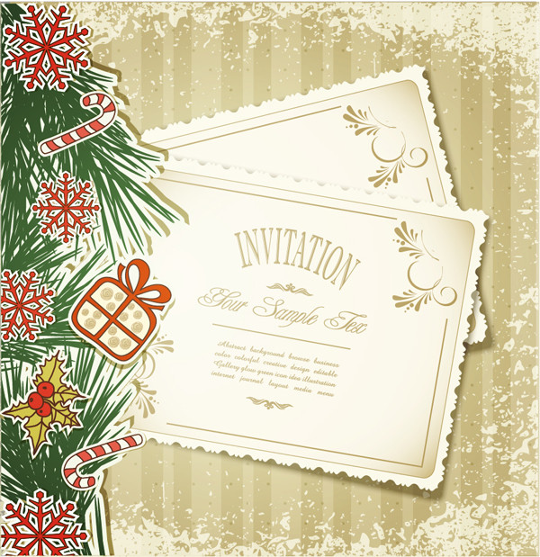 クリスマスカード テンプレート christmas cards