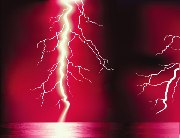 稲妻の光 Lightning thunder2